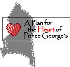 A Plan for the Heart of Prince George's Logo