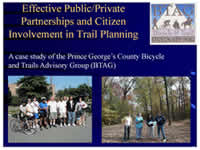 Effective Public-Private Partnerships and Citizen Involvement in Trail Planning