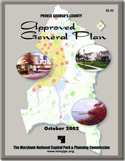 Prince Georges County 2002 Approved General Plan Cover