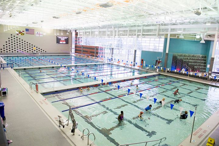 aquatics center mncppc md