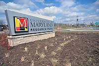 Maryland Research Park Sign