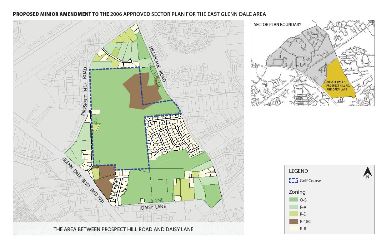 Minor Amendment To Approved East Glenn Dale Sector Plan